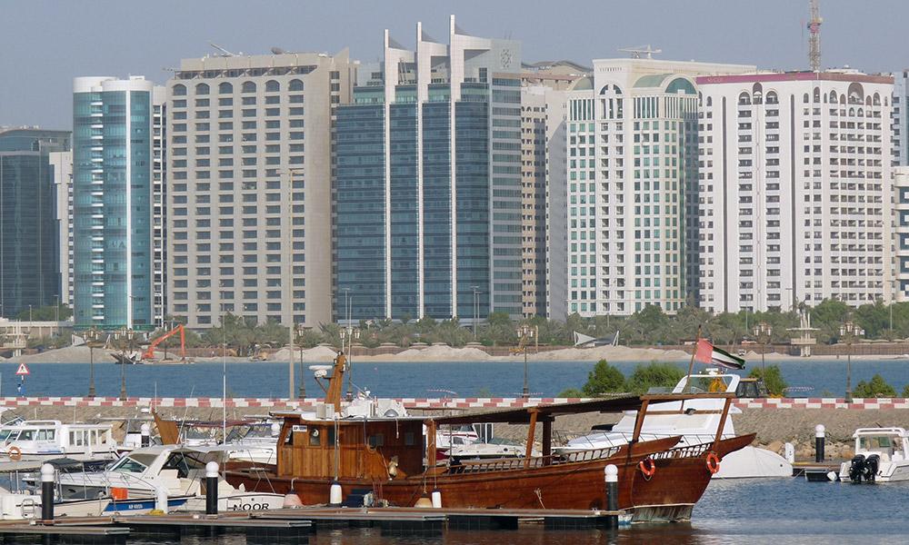 Hochhäuser in Abu Dhabi