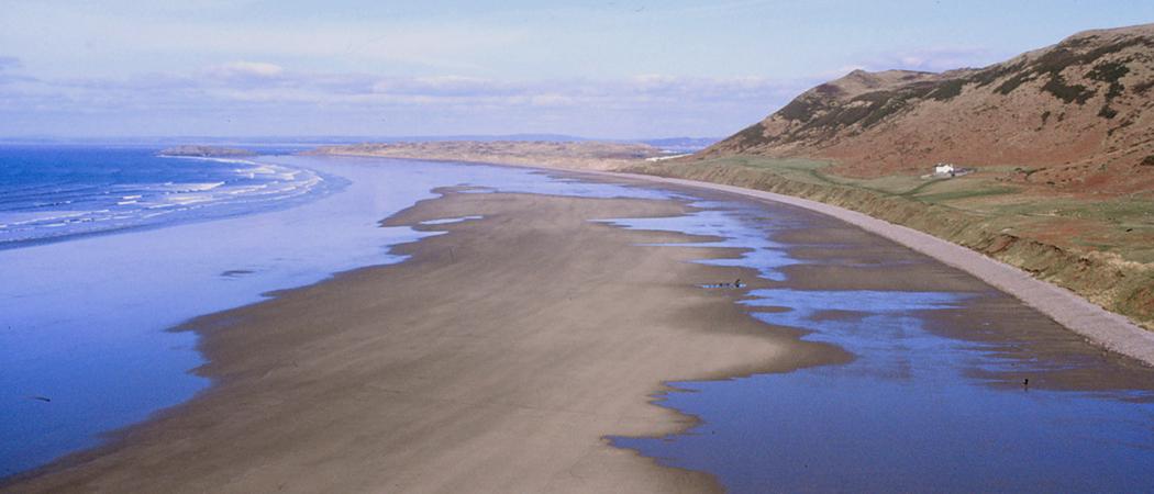 Rhossili Beach auf Gower