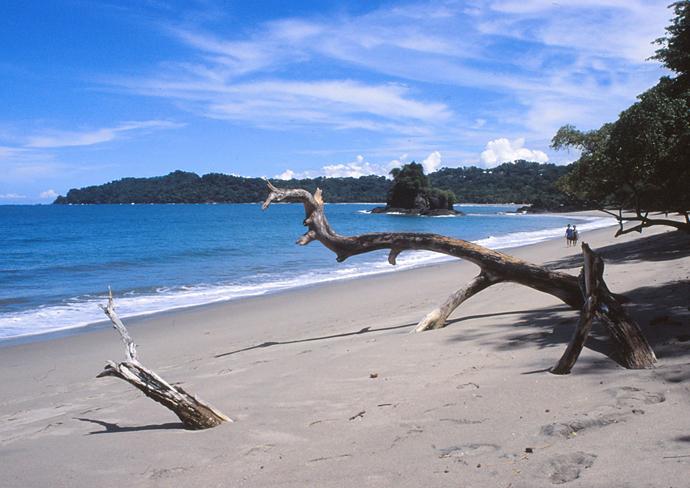 Am Strand von Manuel Antonio