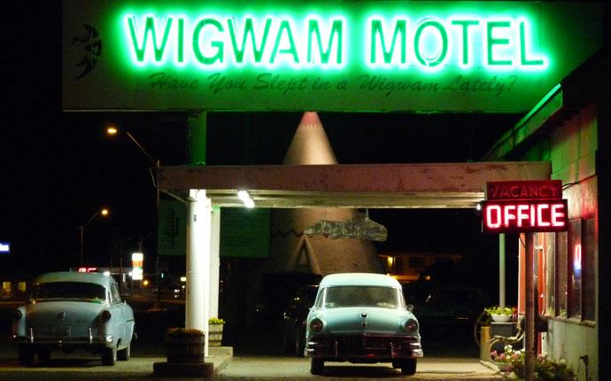 Holbrook Wigwam Hotel