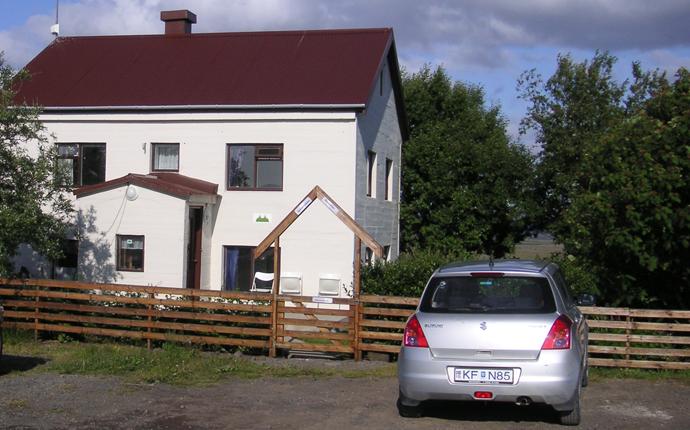 Unterkunft in Island