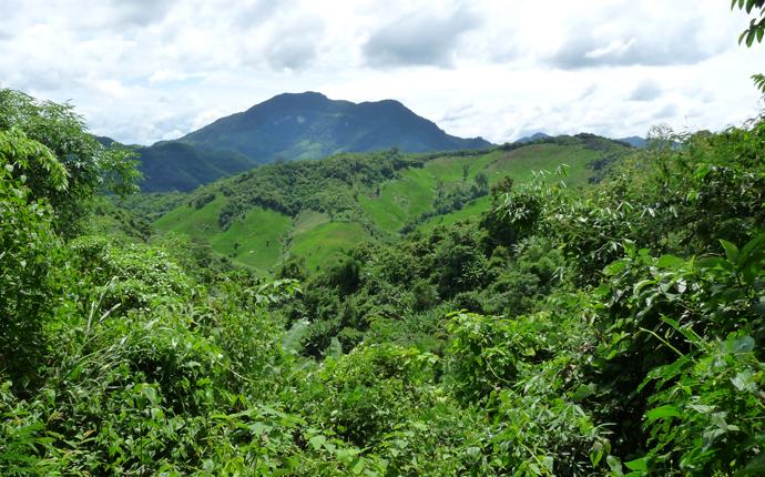 Laos Berge
