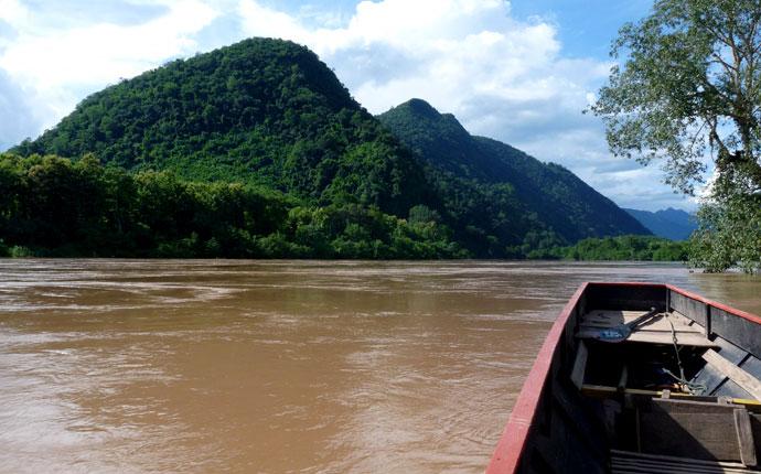 Laos Wasserfälle