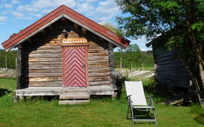 Norwegen Tipps: Holzhütte auf Campingplatz