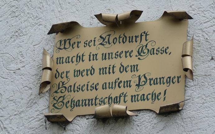 Pranger Heidelberg