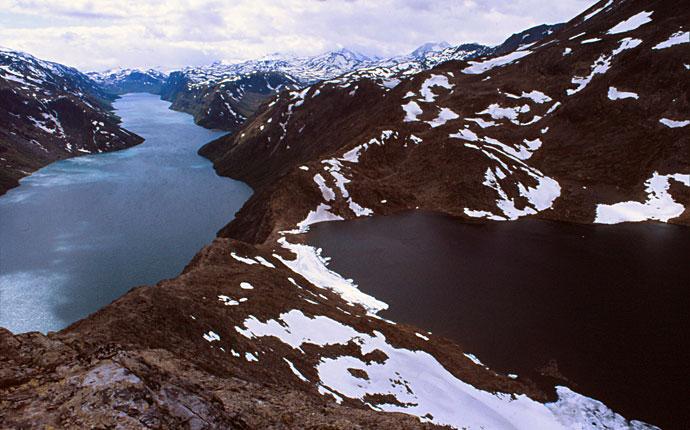 Besseggen Norwegen Jotunheimen