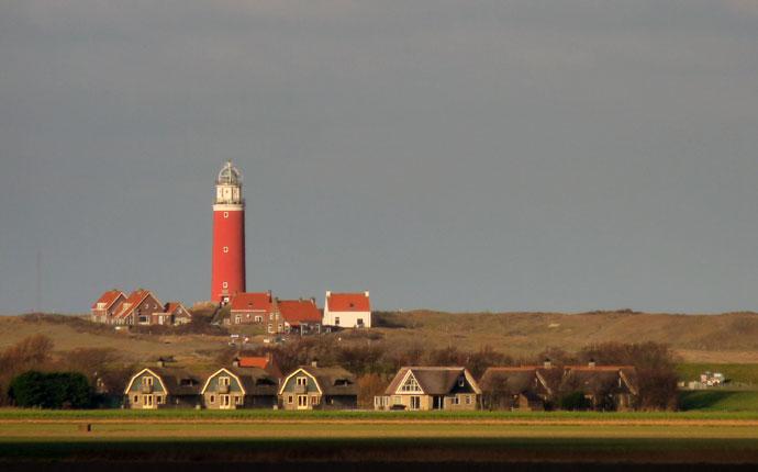 Silvester in Holland: Leuchtturm auf Texel