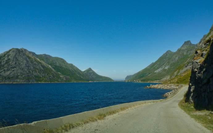 Blick über den Fjord