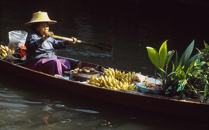 Schwimmende Märkte Thailand