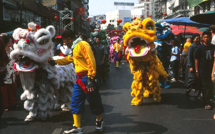 Bangkok Neujahrsfest Chinatown
