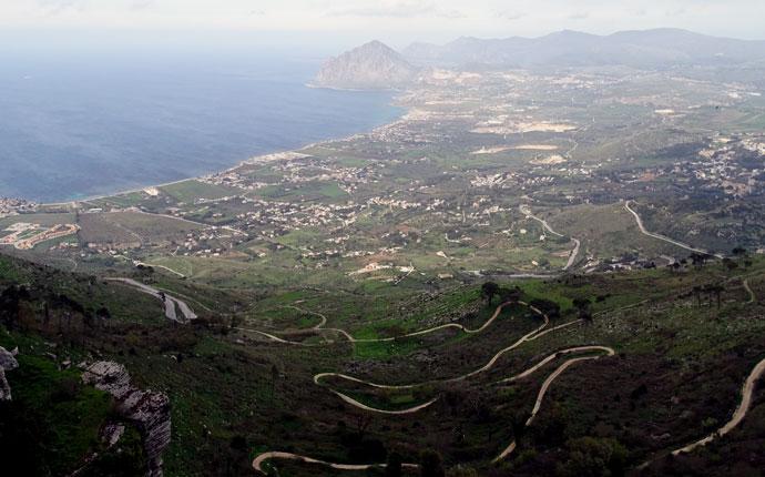 Sizilien Érice