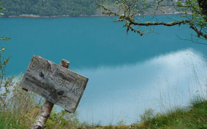 Wanderung am Geiranger-Fjord