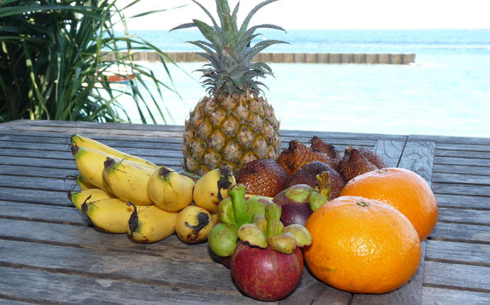 Bali Candidasa Früchte