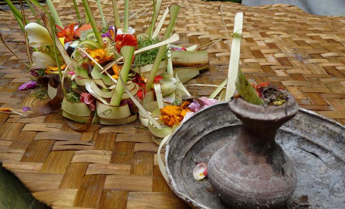 Bali Opfergaben