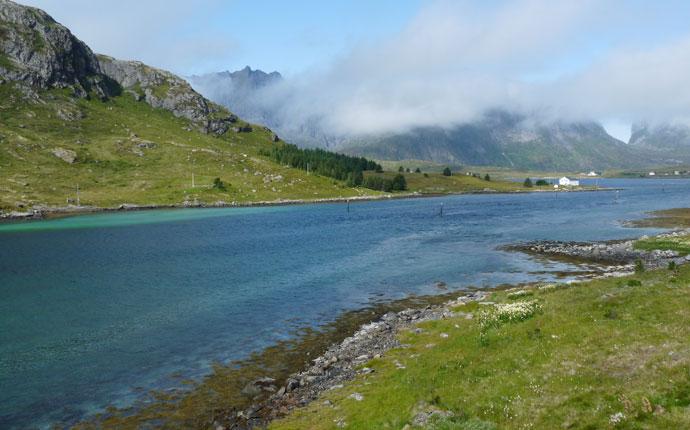Lofoten Fahrt nach Nesland