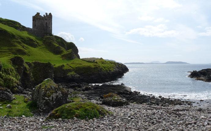 Schottland Gylen Castle