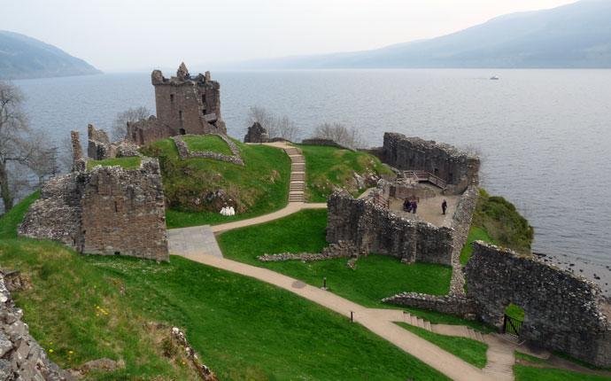 Schottland Urquhart Castle