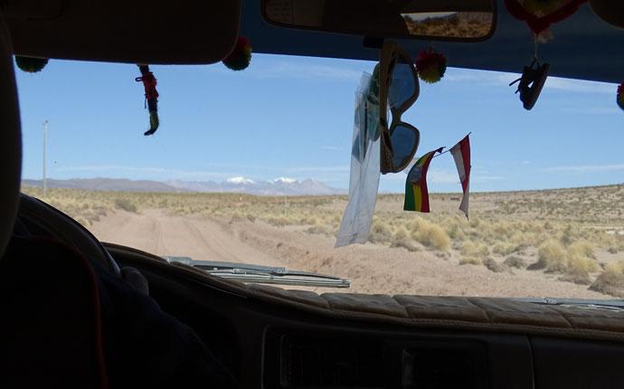 Bolivien Route Auto