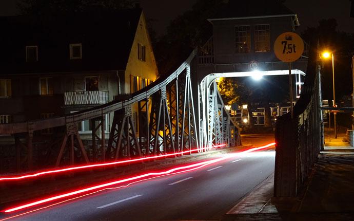 Nachtfoto Brücke