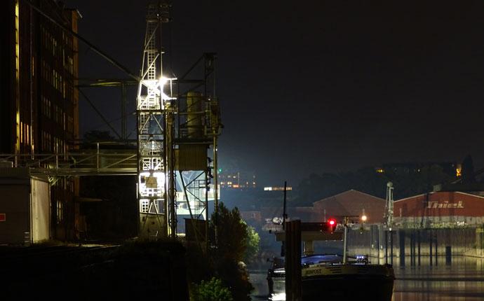 Nachtfotos Hafen