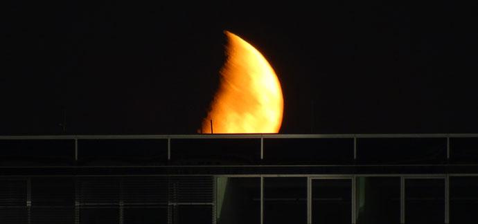 Nachtfotos Mond