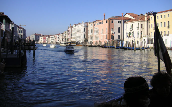 Venedig auf dem Vaporetto