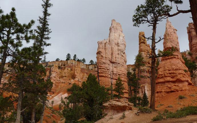 Bryce Canyon von unten