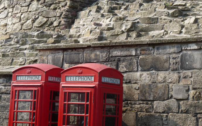 Edinburgh Telefonzellen