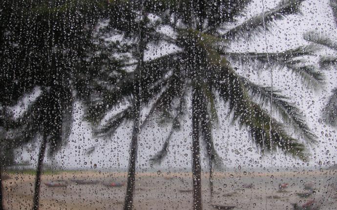 Regenzeit Thailand