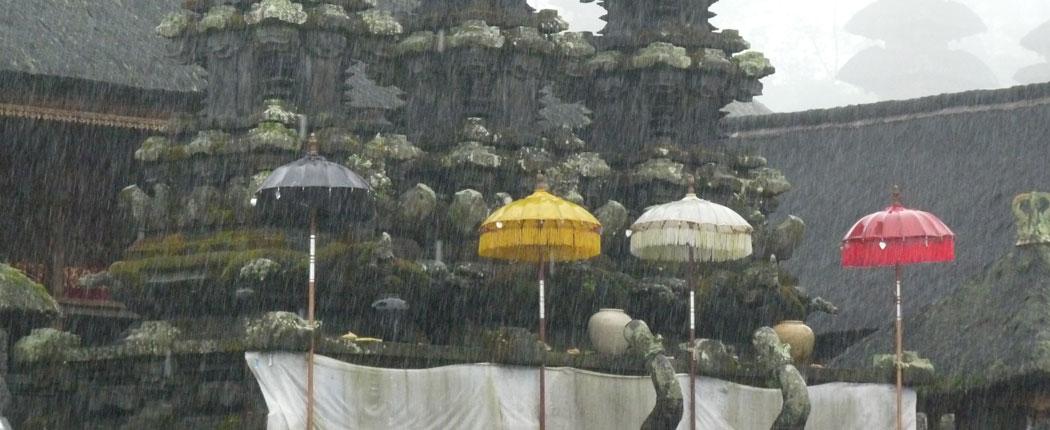 Regenzeit Südostasien