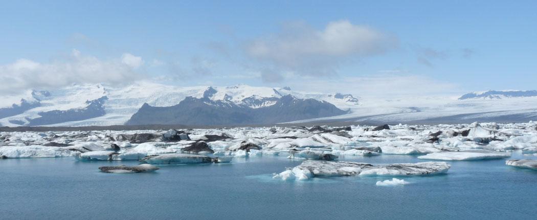 Gletschersee Jökulsárlón Island