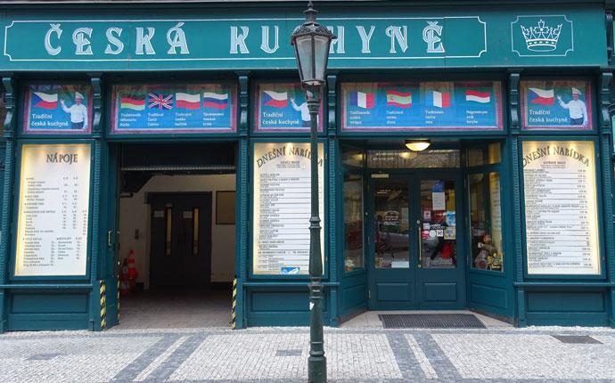 Restaurant Havelská Koruna Prag