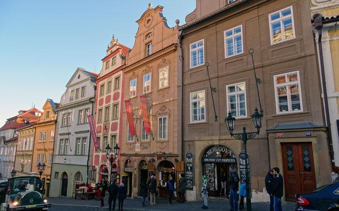 Mostecka-Straße Prag