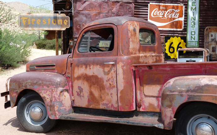 Hackberry Route 66 Oldtimer