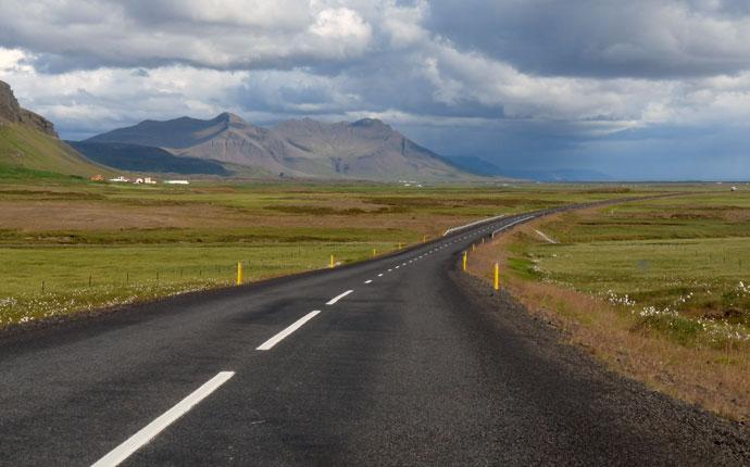 Unendliche Weiten in Island