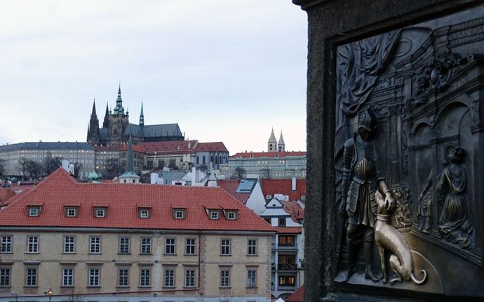 Karlsbrücke Prager Burg