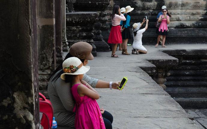 Reisefotografie Selfie