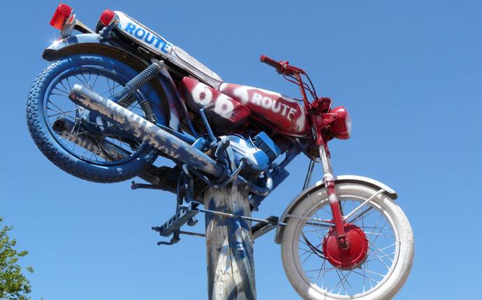 Route 66 Motorrad
