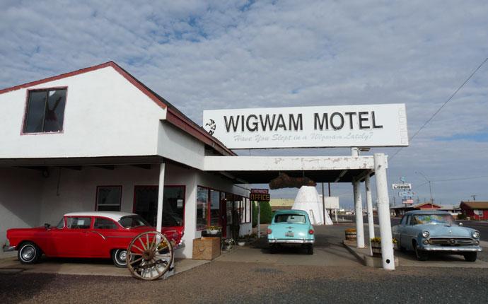 Route 66 Wigwam Motel