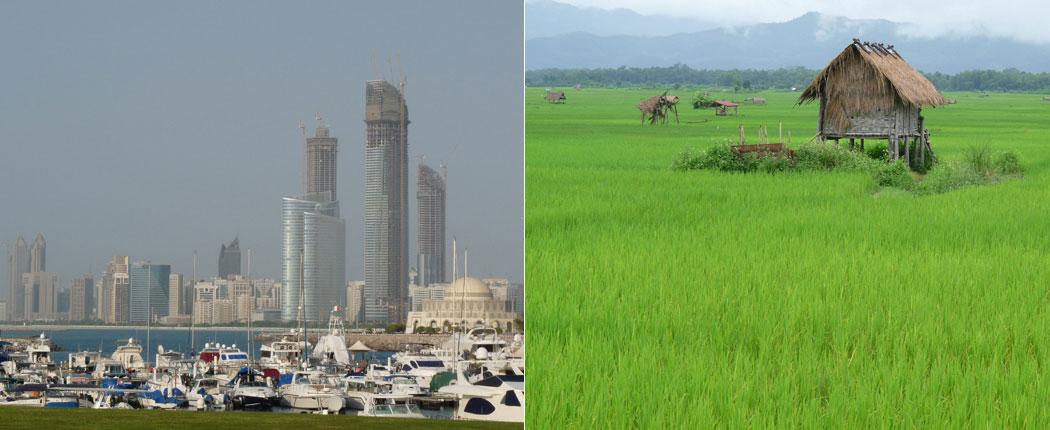 Stad oder Land?