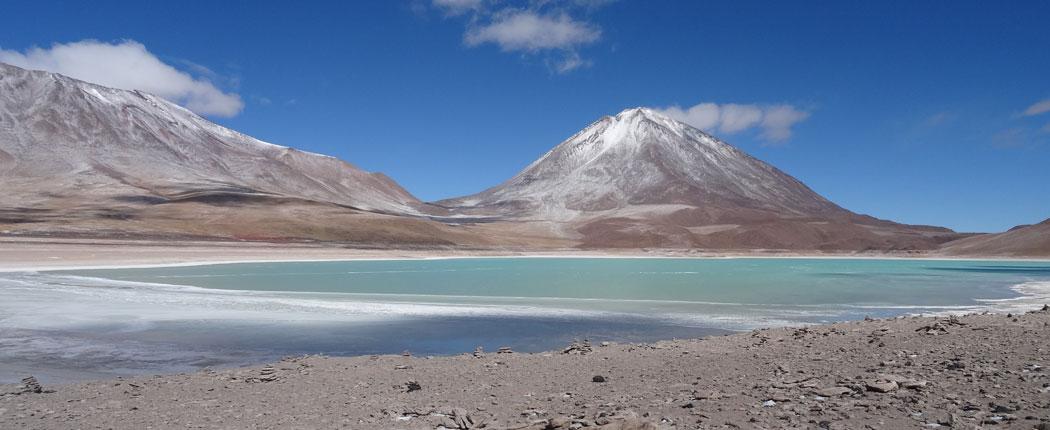 Laguna Verde in Bolivien