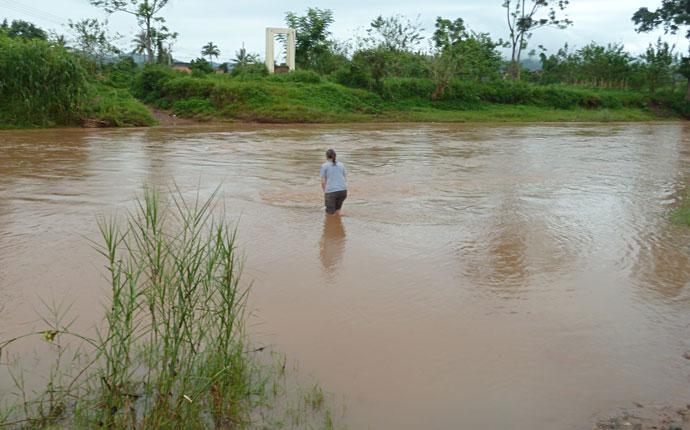 Fluss bei Luang Namtha