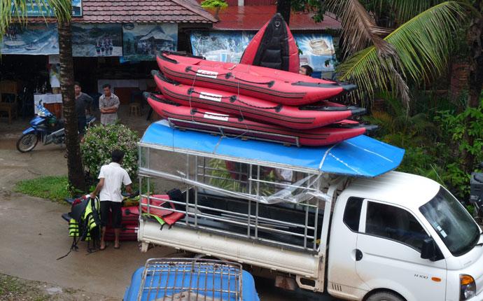 Kayakfahren Luang Namtha