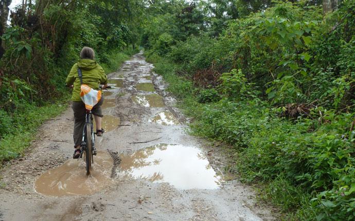 Mountainbike Luang Namtha