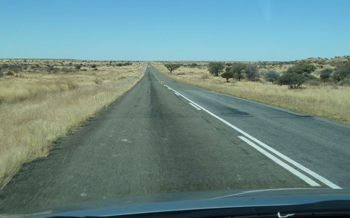 Strasse Namibia
