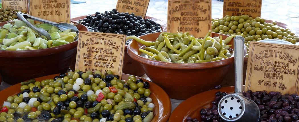 Markt in Sóller auf Mallorca