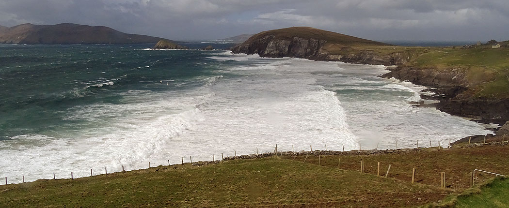 Küste der Dingle Halbinsel, County Kerry