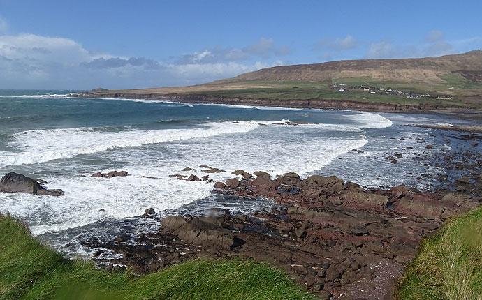 Strand auf Dingle Halbinsel in Irland