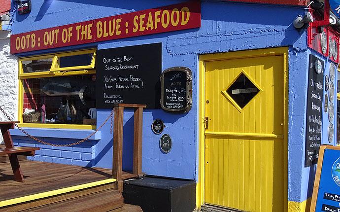 Fischrestaurant in Dingle, County Kerry