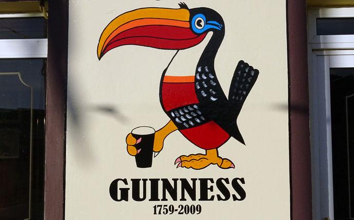 Guiness-Schild